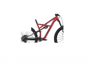 Rama Specialized Enduro Fsr Elite 29 blk/red