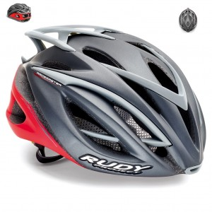 Kask Rudy Project Racemaster graphite/red matt