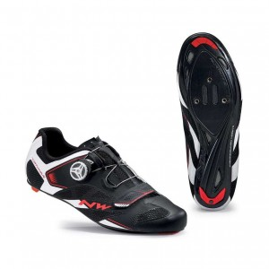 Buty Northwave Sonic 2 Plus blk/wht/red