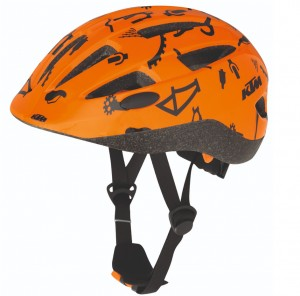Kask KTM Factory Line Kids orange