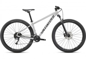 Specialized Rockhopper Comp 27.5 2X GLOSS METALLIC WHITE SILVER / SATIN BLACK